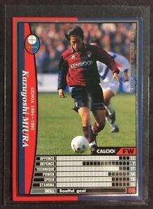 2002-03 Panini WCCF Calcio Kazuyoshi Miura extra rare Genoa card