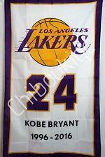 KOBE BRYANT Los Angeles Lakers HUGE 3x5 fabric poster banner wall decor NBA