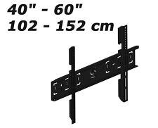 """Support TV 40"""" à 60"""" Fixation murale pour écran plat LCD LED Plasma 102 à 152 cm"""
