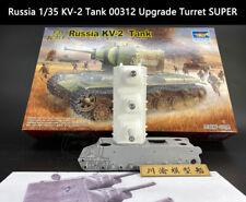 Trumpeter Russia 1/35 KV-2 Tank 00312 Upgrade Turret SUPER