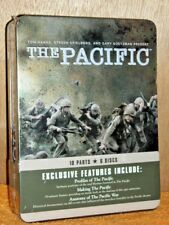 The Pacific (DVD, 2010, 6-Disc) NEW Tom Hanks Steven Spielberg Bill Hunter WWII