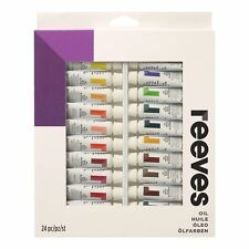 Reeves Aceite De Colores - 24 X 10 Ml Tubo Set