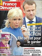 FRANCE DIMANCHE N°3635 29/04/2016 MACRON/ELIZABETH II/ OURNAC/ DARRIEUX/PANACLOC