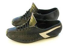 Ancienne Paire de chaussures cycliste - Noël Flèche - cuir très bon état -