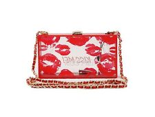 Women Acrylic Fashion Kiss Lips Clutch Minaudiere Handbag