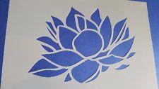 725 Stencil Vintage Seerose stanzschablone SHABBY Stencil Muro Tatuaggio magico