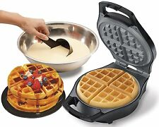 Belgian Waffle Maker Professional Kitchen Stainless Steel Breakfast Iron New