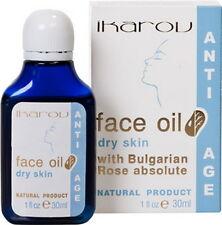 IKAROV Anti Age Face Oil for Dry Skin W/ Bulgarian Rose,Sandalwood,Jojoba,Sesame
