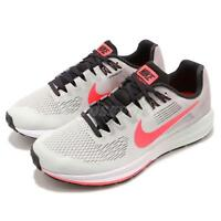 Nike Wmns Air Zoom Structure 21 Grey Hot Punch Women Running Shoes 904701-009