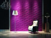 *SPACE* 3D Decorative Wall Panels 1 pcs ABS Plastic mold for Plaster