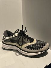 New listing Brooks Revel Womens Road Running Shoes Size 8.5 Black White Sneakers Knit