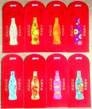 Ang pow red packet Coca Cola 8 pcs set new 2019