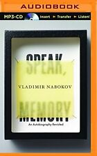 NEW Speak, Memory: An  Autobiography Revisited by Vladimir Nabokov