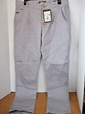 "MALOJA~Gray ""Smoke"" Lightweight CHARLYM TWILL PANTS~Women's Medium~NWT"