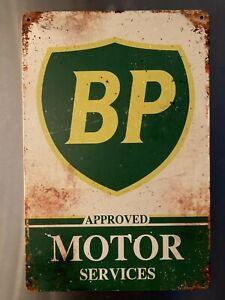 Retro Sign Motor Beer Spirits Garage Cave Bar Cafe Shed 30cm x 20cm BP SERVICES