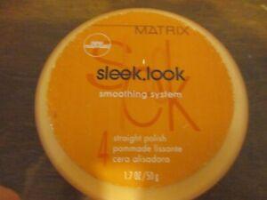 1.7 Oz Matrix Sleek look straight polish pomade