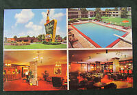Postcard GA Holiday Inn of Waycross Georgia Multiview Chrome Motel Hotel