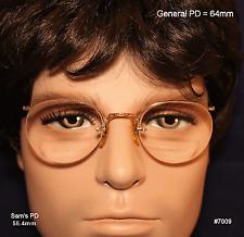 Americal Optical Numont Crossley 12K Gold Fill True Vintage eyeglasses & Case