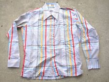 Vintage 1970's Monzini Collection by Monticello mens size: Xl 17-17 1/2