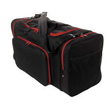 Blank Team Sports Bag 600D Polyester Red and Black Ready for Embroider FAST SHIP
