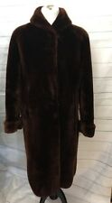 Vintage NELSON Royal Star Mouton Dyed/Sheared Lamb Coat Denholm's Worcester