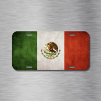 1 NEW Chrome Front Grill Badge Mexican Flag Spanish MEXICO MEDALLION PUEBLA
