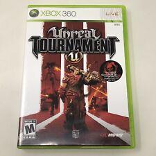 Unreal Tournament Microsoft Xbox 360 Video Game Complete Tested CIB