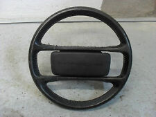 PORSCHE 944 BLACK LEATHER STEERING WHEEL