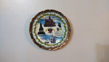 Decorative Wall Hanging Russian Plate Dish Hand Painted