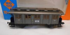Roco HO 4 Wheel Coach Grey 4th Class Prussian 4229 In OB