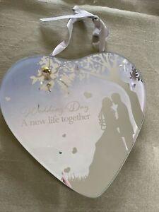 Wedding Day Plaque Present