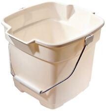 Rubbermaid Roughneck Heavy-Duty Utility Bucket, 12-Quart, Bisque
