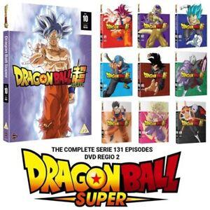 DRAGON BALL SUPER Complete Series Seasons 1-10 DVD New 1 2 3 4 5 6 7 8 9 10