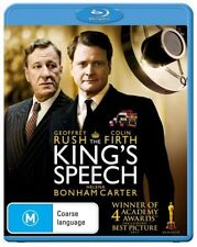 THE KINGS SPEECH Bluray Free Post New & Sealed COLIN FIRTH