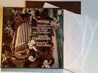 Mozart Kirchensonaten für Orgel Chorzempa Winschermann Philips 2 LP Box