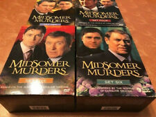 MIDSOMER MURDERS British Mystery 2-4-5 & 6 DVD Box Sets-Missing 1 Disc
