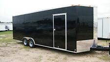 8.5'x20' Enclosed Cargo Trailer V NOSE 22 Utility Car Hauler 8 Motorcycle Box
