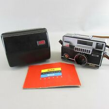 Vintage Kodak Instamatic 800 Camera with Bakelite Hard Case and Strap and manual