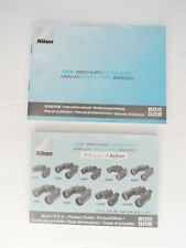 Nikon Product Guide & Instruction For Action Binoculars 7x35 8x40 10x40 10x50