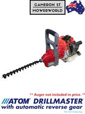 ATOM 980 Professional Drillmaster Powered by 33cc Mitsubishi 2-Stroke Engine