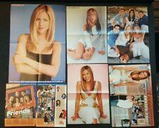 ❤ JENNIFER ANISTON 4 Poster Clippings Friends Brad Pitt  ❤