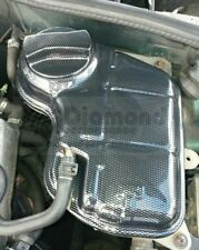 AUDI A4 B6 platform, coolant bottle cover and new cap carbon Fibre Effect