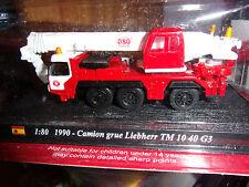 DELPRADO CAMION GRUE LIEBHERR TM 10 40 G3 -1990  NEUF SS BLISTER
