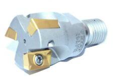 90° Eckfräser  Einschraubfräser D=32-Z3-M16 +10 APKT 160408-PM  für Stahl u. VA