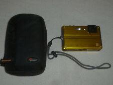 LUMIX WATERPROOF DIGITAL CAMERA W ZIP CASE DMC FT2 FOR PANASONIC UNDERWATER GOLD