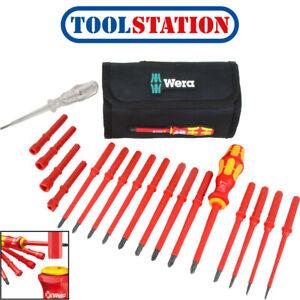 Wera Kompakt VDE Interchangeable Blade Screwdriver Set