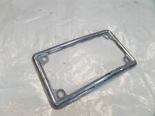 1978 & 1979 Honda CX500 Rear Fender & License Curved Number Plate Holder Trim