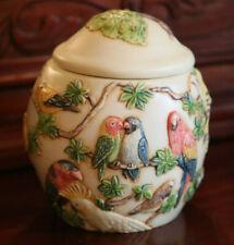 Jardinia Mangrove'S Eden Lidded Jar Cachepot