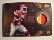 2014 Topps Valor De'Anthony Thomas Prime Game Used Jersey Rookie #'d 91/99