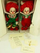Jingles Belle Christmas Dolls marie osmond twin beverly stoer elf santa xmas toy